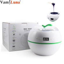 Wax Warmer Machine Wax Heat Melt Hair Removal Waxing Device Paraffin Heater Therapy Bath Salon Spa Wax Pot LCD Display
