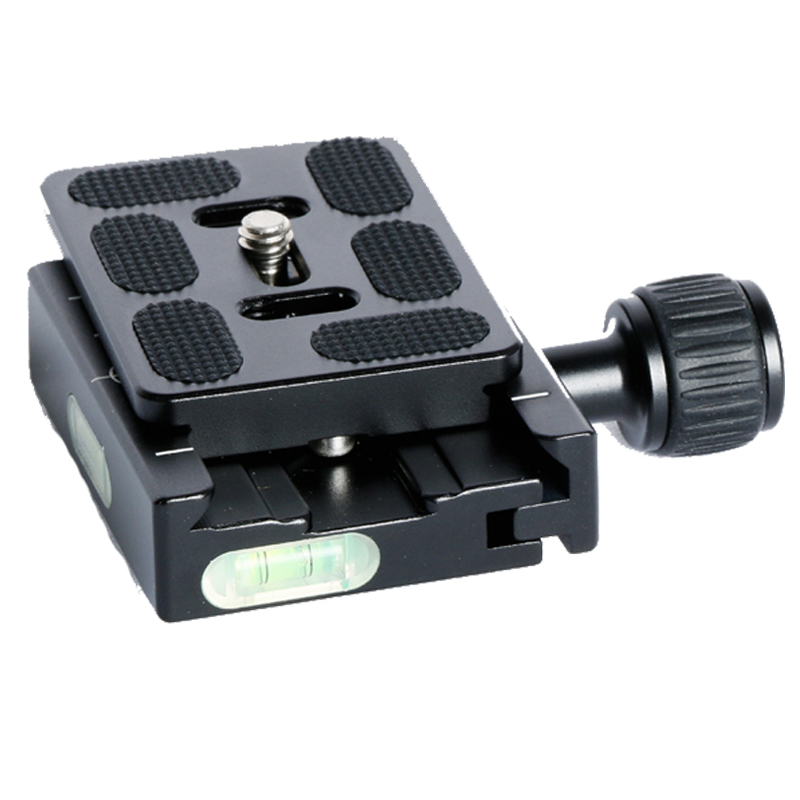 60mm clamping clamp+ QR60 tripod quick release Plate For Compatible Arca Swiss Tripod Ball Head