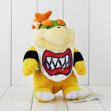 8 21cm Super Mario Koopa Bowser Dragon Plush Doll Brothers Bowser JR Soft Plush font b
