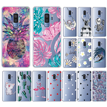 GerTong Soft TPU Case For Samsung Galaxy A70 A50 A30 A20 A10 S8 A9 Plus S7 Edge Note 8 9 Pattern Coque Phone Cover Shell