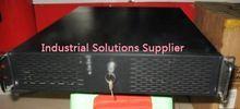 NEW Server large-panel 2u lengthen industrial computer case full black belt lock belt panel 2u computer case