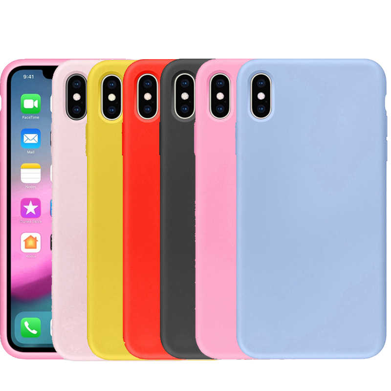 Soft Case untuk Samsung Galaxy S10 S8 S9 Plus S10e S7 S6 Edge Note 8 9 5 Note8 Note9 Fashion in Shockproof TPU Silicone Cover