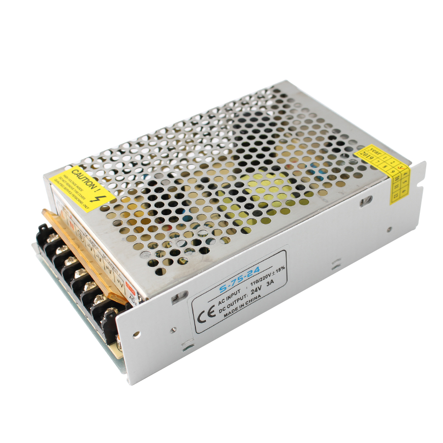 <font><b>5</b></font> volt Power Supply ac to DC 5V <font><b>5A</b></font> 25W <font><b>5</b></font> <font><b>v</b></font> led driver for LED Strip lighting Transformer Adapter inverter Regulated Switching image