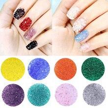 LNRRABC 20Colors 1.2mm Micro Crystal Flat Back DIY Trendy Nails Rhinestones Nail Art Decoration