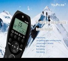 Youpro YP-880/S2 проводной таймер дистанционный переключатель спуска для Sony A58 A9 A7 A7R A7S A7II A7SII 7RII A6500 A6300 RX1R RX10 RX100II