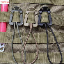 Много 4цвета 2шт открытый EDC инструмент рюкзак карабин Молл пряжки моталки клип