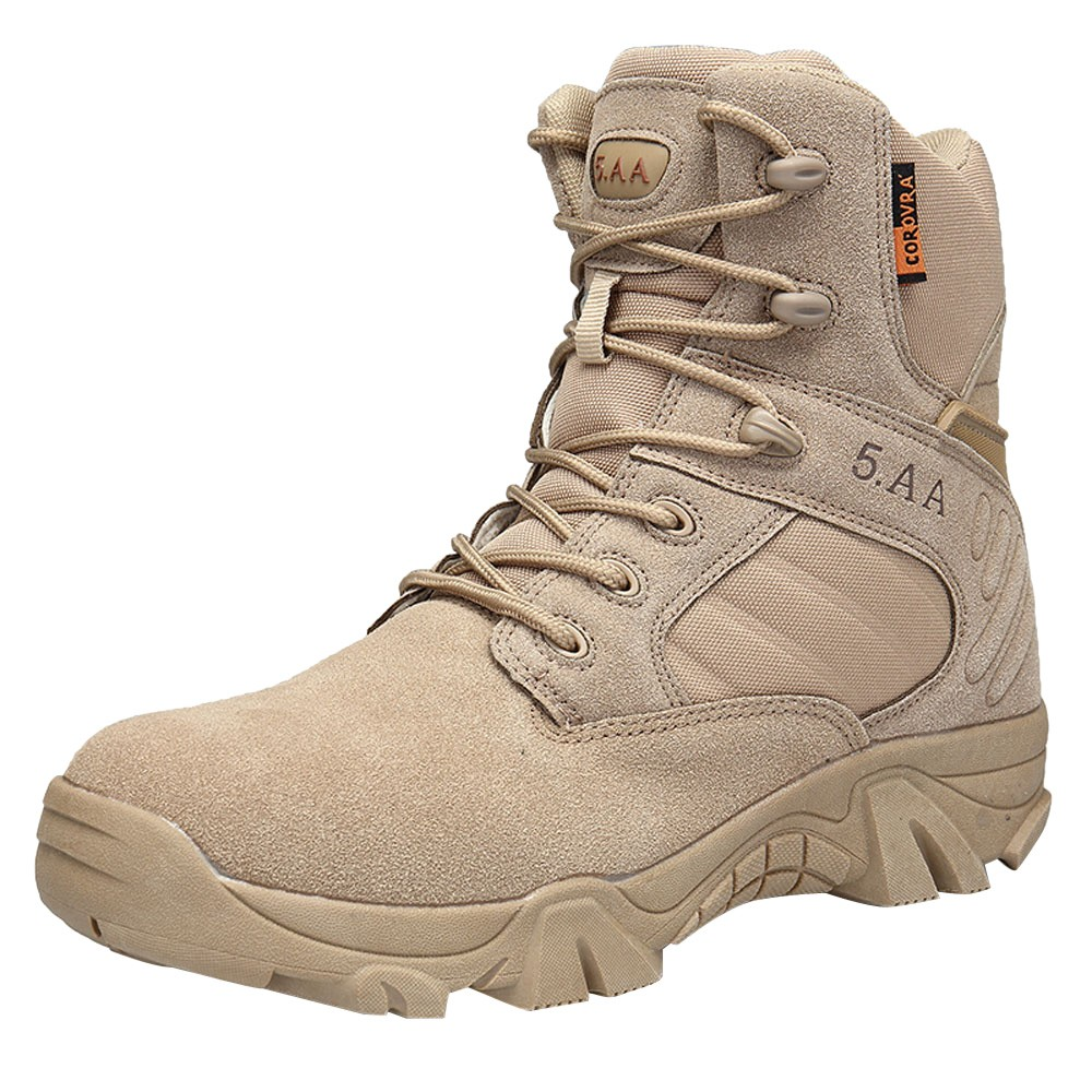 SAGACE Boots Combat Warm Shoes Military-Bots Wear-Resisting Hiking Outdoor Climbing Winter title=