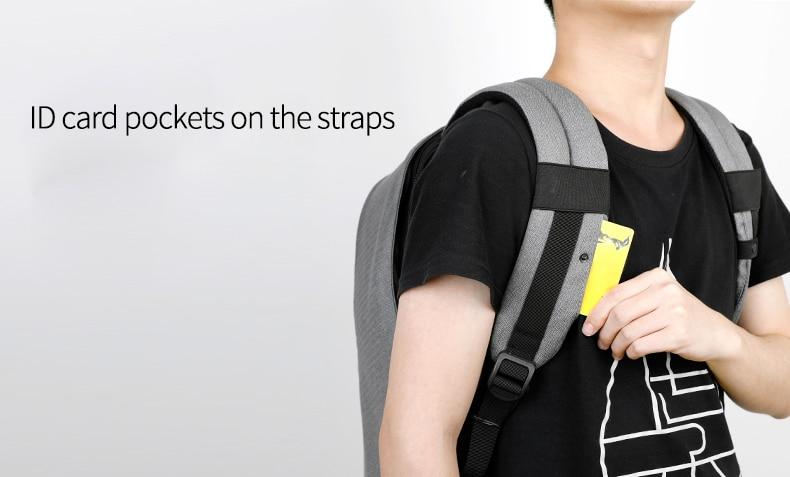 Creditcard vakjes in de schouderbanden