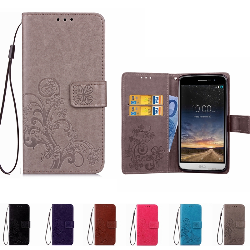 Leather Wallet Phone Case For LG K10 2017 K5 K7 X power K220DS G3 G4 G5 G6 Stylus 2 Leon Spirit H340 Ray Flip Stand Book Cover