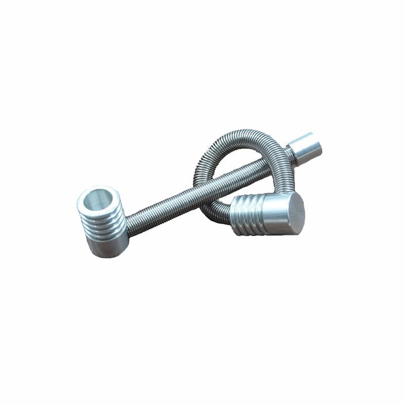 Portable smoking metal weed pipe