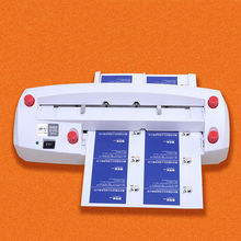 Buy business card cutter machine and get free shipping on aliexpress 2018 new high quality automatic name card slitter name card cutter a4 size business card cutting reheart Images