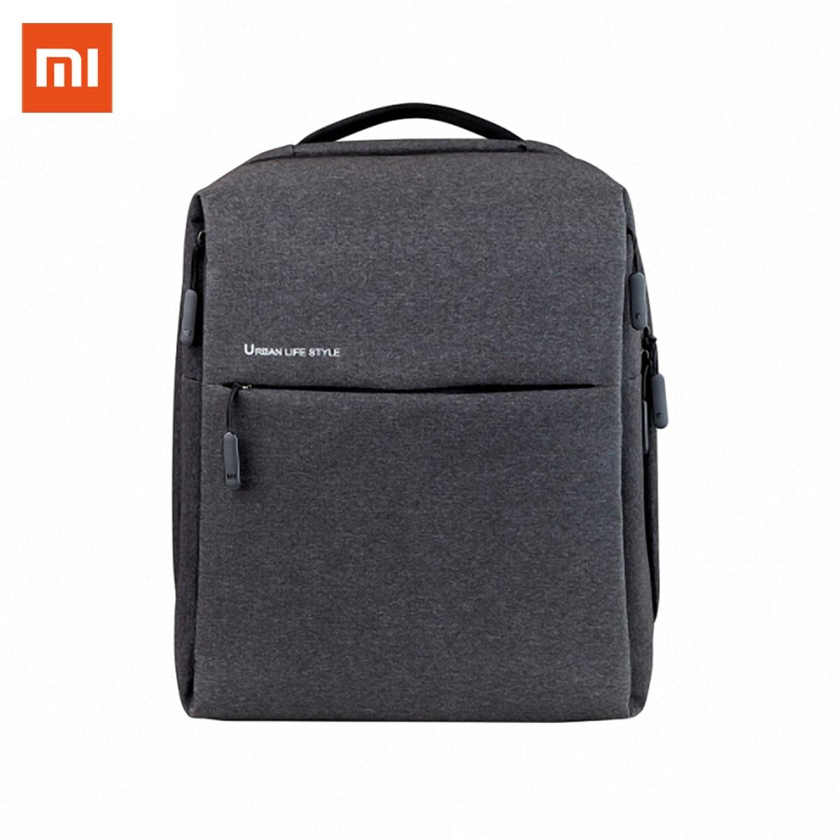 Original Xiaomi Mi Backpack Urban Life Style Shoulders OL Bag Rucksack Daypack School Student Bag Duffel Bag 14 Inch Laptop Bags
