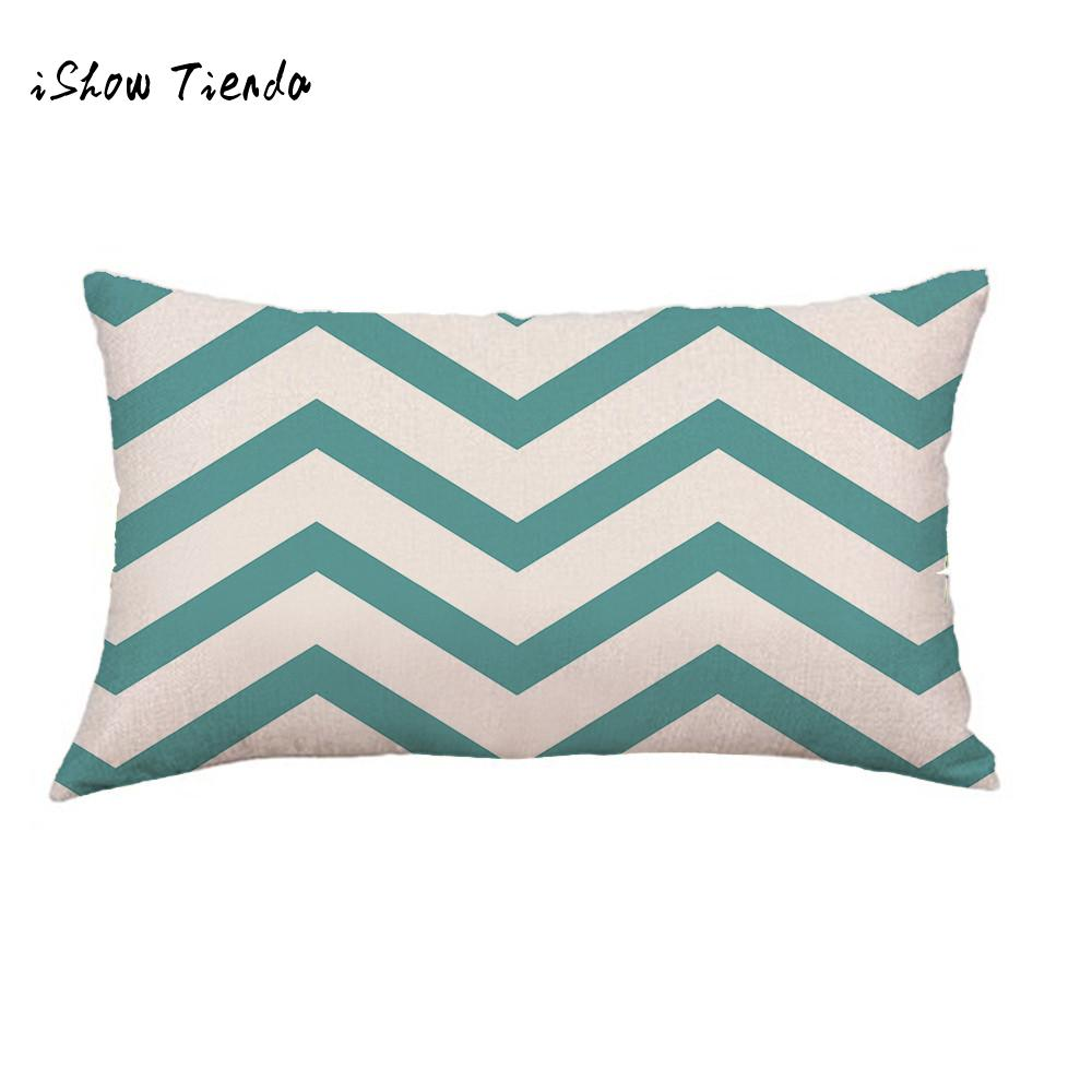 ISHOWTIENDA geometric cushion sitting chair Lines Sofa Festival Pillow Case living room cushions decoration for home kussenhoes