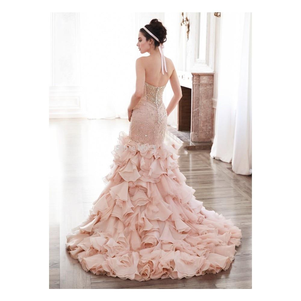 Atractivo Vestido De Boda De Beth Ostrosky Festooning - Colección de ...