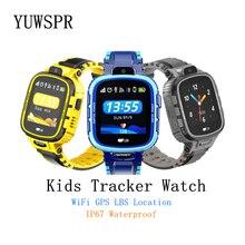 아이 GPS 추적자 스마트 워치 WIFI GPS LBS 위치 방수 사진기 기계적인 외관 아이들 똑똑한 시계 TD26 1pcs