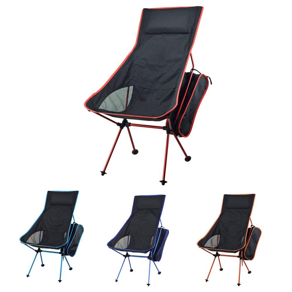 lightweight folding chair fishing camping hiking gardening pouch