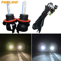 2x 35W Car AC HID Bulbs Xenon Headlight Lamp H13 9008 Hi Lo Bi Xenon With