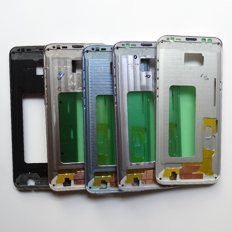 Middle Frame Bezel Housing Chassis For Samsung Galaxy S8/S8+ Plus With Parts + Side button