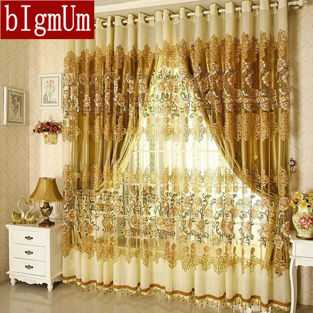 Aliexpress.com : Buy On sale ! Curtains Luxury Beaded For Living ...