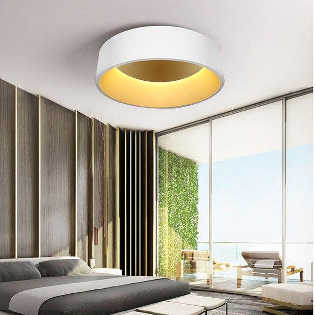 Modern Minimalist LED Living Room Ceiling Light, Round