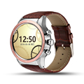 Mtk6580 lemse y3 bluetooth smart watch android 5.1 os wifi gps de control del ritmo cardíaco reloj soporte what'sapp smartwatch