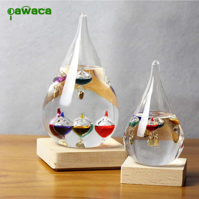 Galileo Weather Temperature Thermometer Floating Color