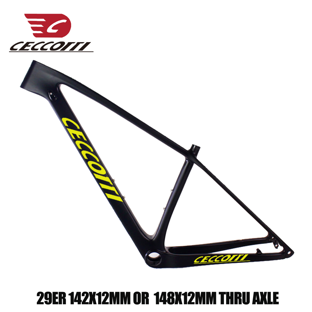 Hot Sale Carbon Bike Frame T1000 New Model 29er Bicicleta Frame 142*12mm Thru Axle Bike Frame