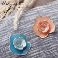 vintage acrylic crystal flower brooch costume jewelry pins lapel pin broches mujer broche bouquet brooches for women boutonniere