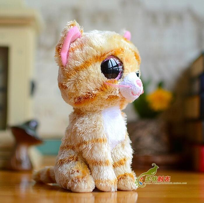 Cute Tiger Cats Doll TY Plush Animals Kids Toys Creative Gifts Toy Shops