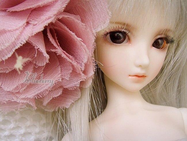 HeHeBJD 1/4 poupée fille myrtille yeux gratuits livraison gratuite jouet offre spéciale poupées de mode-in Poupées from Jeux et loisirs    1