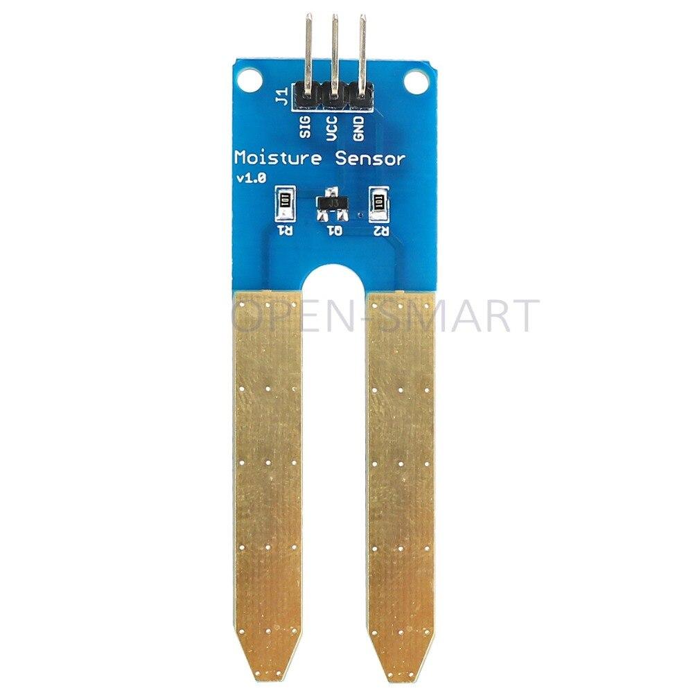 Датчик влажности почвы, датчик влажности почвы, позолоченный модуль влажности/датчик воды для Arduino