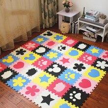 Jcc vários padrões tapete de eva, espuma, jogar, crianças, tapete, intertravamento, exercício, chão para crianças, telhas 30*30*1cm