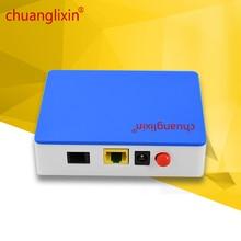 Chuanglixin 1G GEPON 1 порт пассивная волоконно-Оптическая сеть Ethernet OLT 1,25G gepon пассивная Волоконно-Оптическая сеть Ethernet оптический сетевой блок