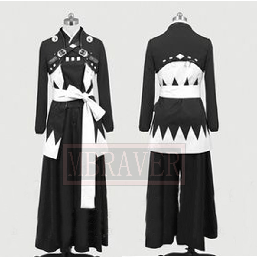 Cos Anime Hakuouki Saitou Hajime Cosplay Costume Custom Made Any Size
