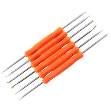 6 в 1 стальной инструмент для припайки BGA PCB ремонтный инструмент набор высокоточные электронные компоненты Сварка шлифовка Чистка ручные инструменты