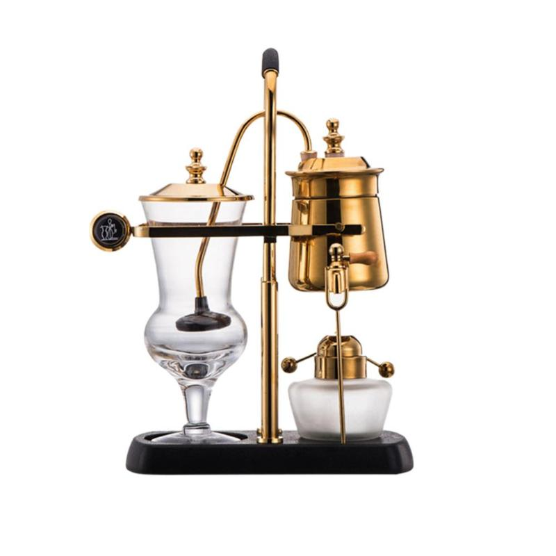 Removable Glass Syphon Siphon Drop Coffee Maker Pot Vacuum Coffee Machine royal belgium coffee maker barcafe family use luxury royal belgium syphon balance vacuum coffee maker vacuum coffee pot