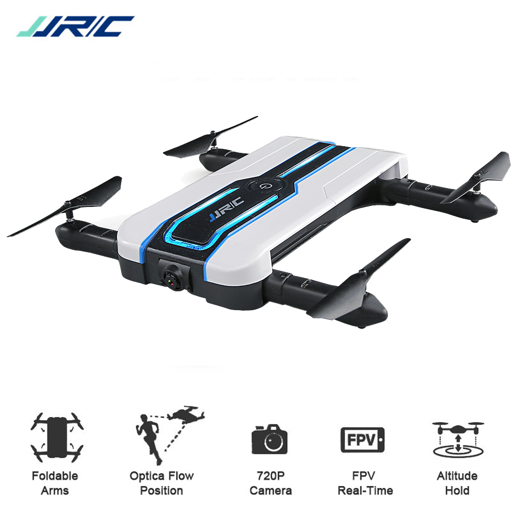 JJRC H61 Spotlight WIFI FPV Drone with 720P Camera Optical Flow Positioning Foldable RC Quadcopter Dron 6-Axis Mini Selfie Drone костюм nike dry acdmy 18 trk suit 893709 719 sr