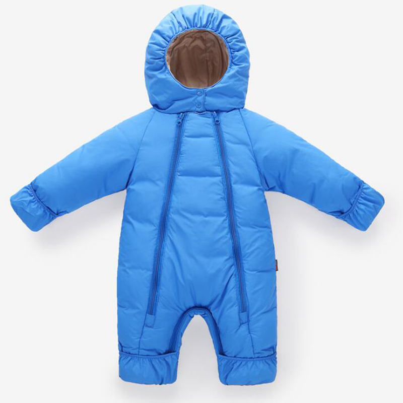 2018 Newborn Baby Rompers Boys Winter Clothing Kids Winter Overalls Toddler Girls Jumpsuit Children Costumes Baby Infant Romper newborn baby romper kid jumpsuit hooded infant outfit clothes long animal modelling baby rompers overalls of toddler body suit