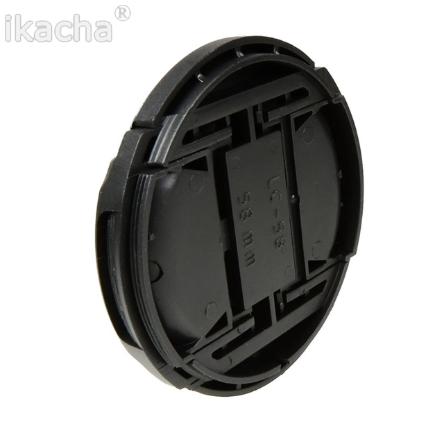 Camera Lens Cap Protection Cover 49mm/52mm/55mm/58mm/62mm/67mm/72mm/77mm/ With Anti-lost Rope Free Shipping