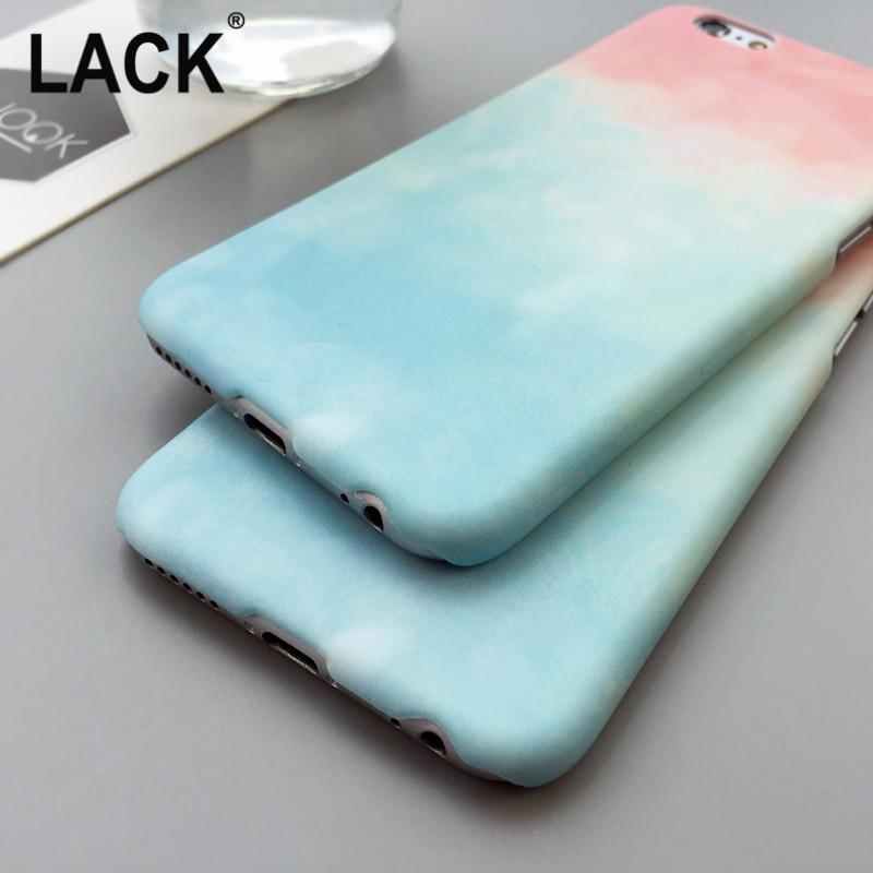 KURANGNYA Gradien Warna-warni Kasus Untuk iPhone 6 Kasus Untuk Apple - Aksesori dan suku cadang ponsel - Foto 5