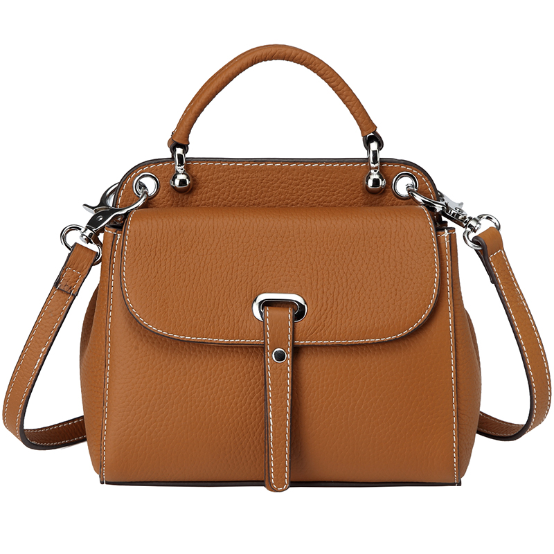 2018 New Brand PASTE Handbag for Women Shoulder Bag High Quality Togo Leather Female Crossbody Messenger