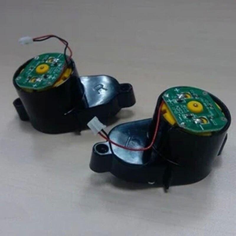 2pcs/lot (L Motor+R Motor)side Brush Motors for panda X500 Panda X850 Vacuum Cleaning Robot colorful panda фиолетовый l