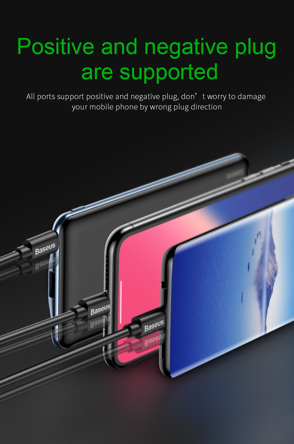 Baseus USB PD Fast Charging Power Bank For iPhone Xs Xs Max XR 18 X 8 8 Plus Powerbank 3A Quick Charge USB Type C Power Bank 7