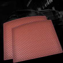 Custom fit car trunk mat for Mazda 3/6/2 MX-5 CX-5 CX-7 3D carstyling heavy duty all weather protection tray carpet cargo liner