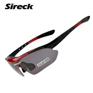 Sireck الصيد نظارات UV400 الاستقطاب في الهواء الطلق السلامة الرياضة نظارات دراجة تنزه نظارات النظارات الشمسية الصيد نظارات