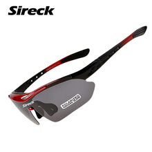 Sireck Fishing Glasses UV400 Polarized Outdoor Safety Sport Glasses Bicycle Hiking Cycling Glasses Sunglasses Fishing Eyewear