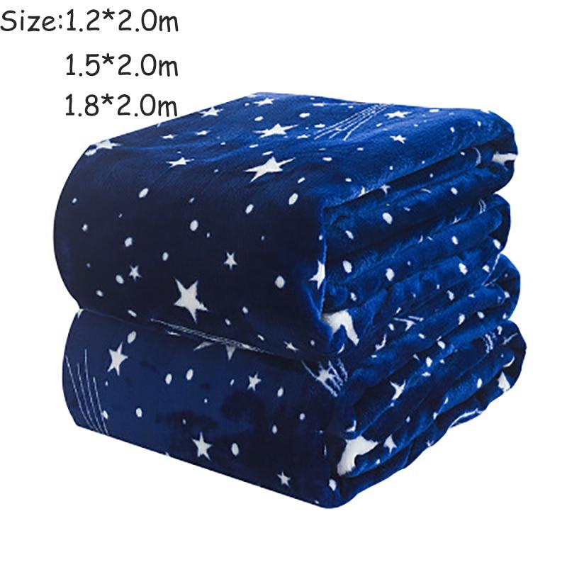 2018 heißer Verkauf! Dreamworld Star Flannel Blanket Helle Sterne - Haustextilien - Foto 6