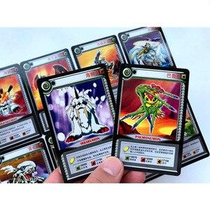 Image 4 - 36 sztuk/partia Cartoon kolekcja karty Digimon przygoda cyfrowy Agumon War Greymon Action Figures Evolution karty handlowe Kid Toy