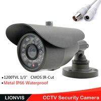 1200TVL Security Camera CCTV Surveillance Camera HD CMOS IR Cut 48 Infrared Led Nerwork Outdoor CCTV