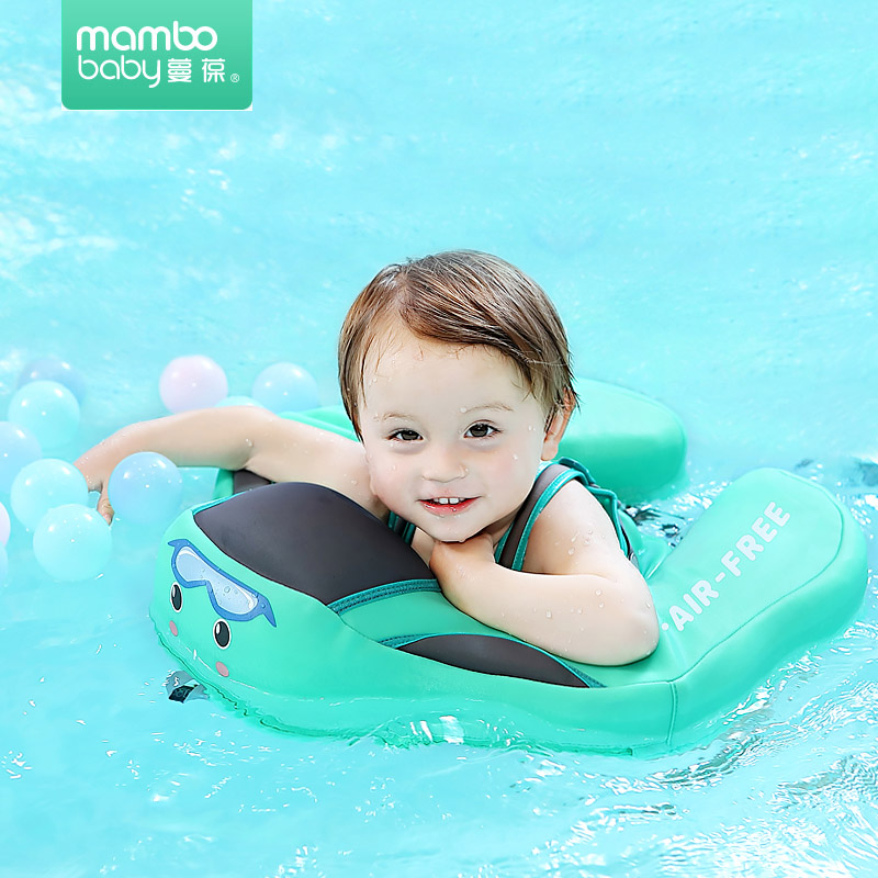 Air Free Baby Swimming Ring Floating Children Waist Floats Swimming Pool Toy for Bathtub Pools Baby